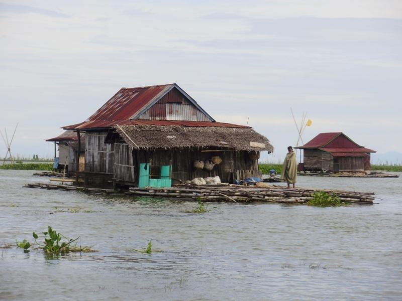 Floating village in Sengkang