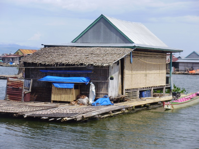 Floating village in Sengkang