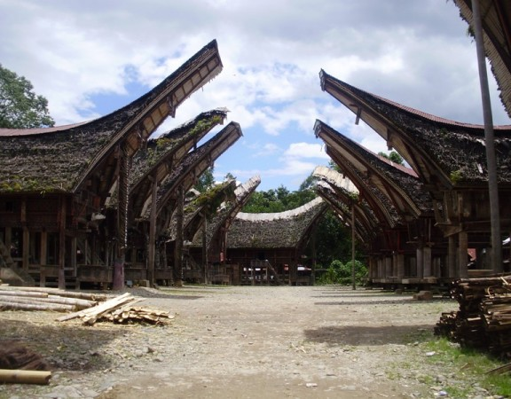 Traditional houses in Tana Toraja