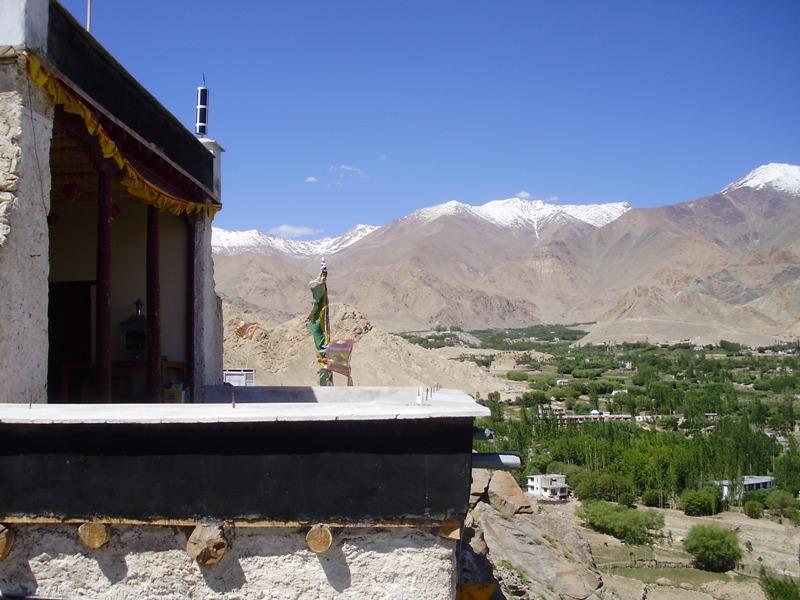 Temple near Shanti stupa