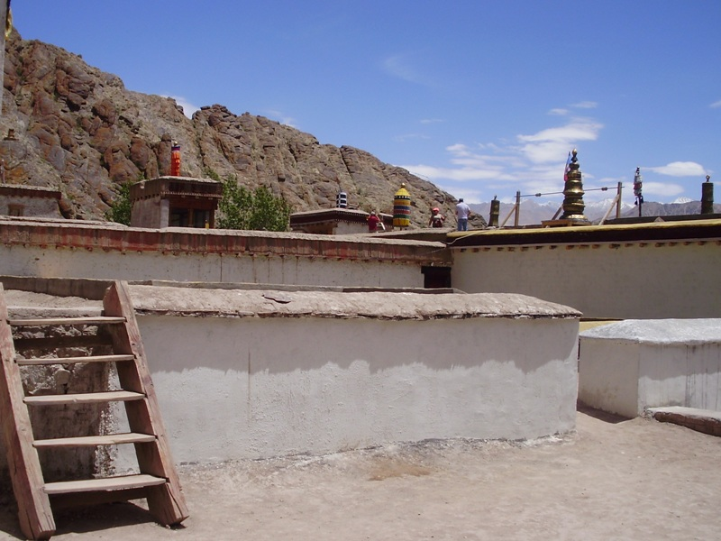 Roof of the monastery
