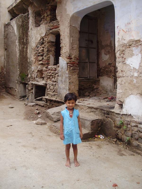 Child in Pushkar