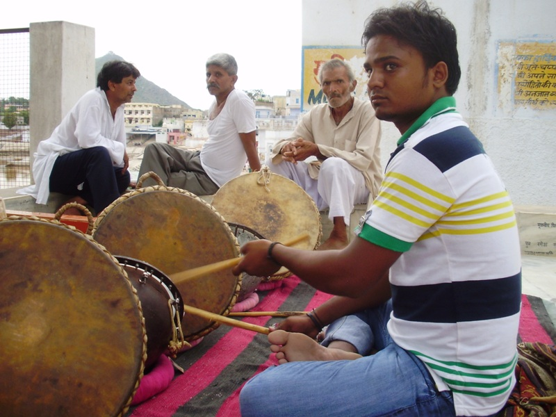 drummer in Pushkar