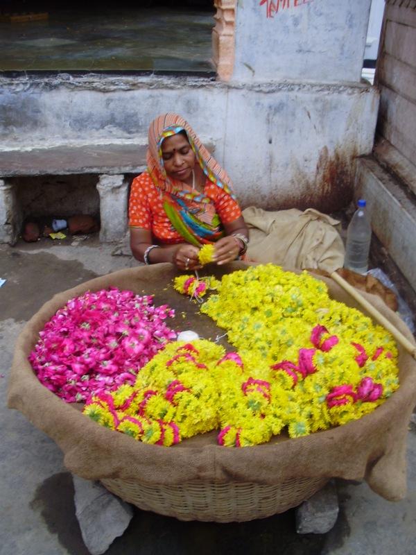 flovers for offering near Pushkar