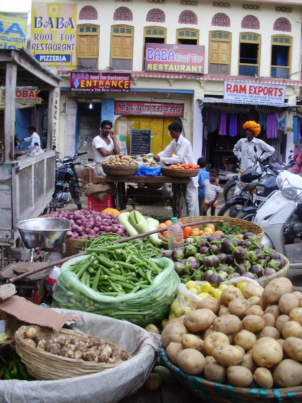 main bazaar pushkar