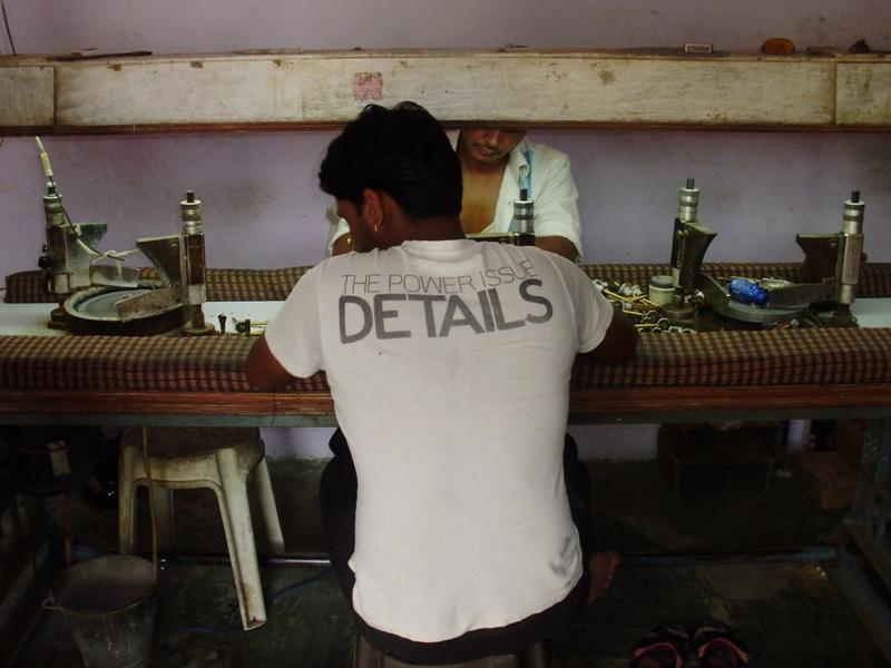 Jeweler workroom, Jaipur