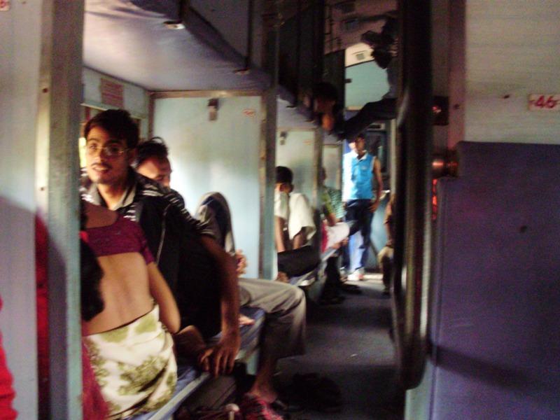 sleeper train in india