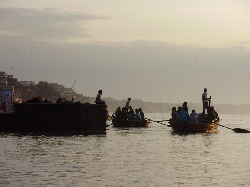 boats on Ganges