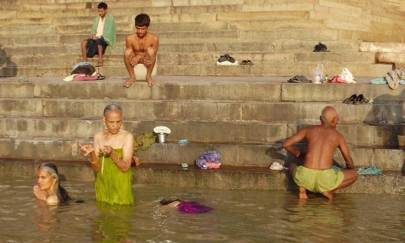 purification in Ganges