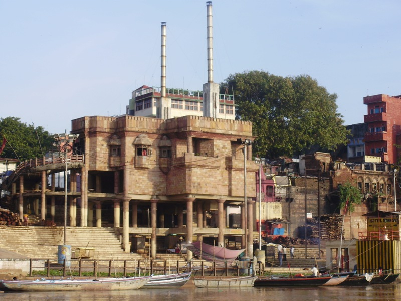 Electric crematorium in Varanasi