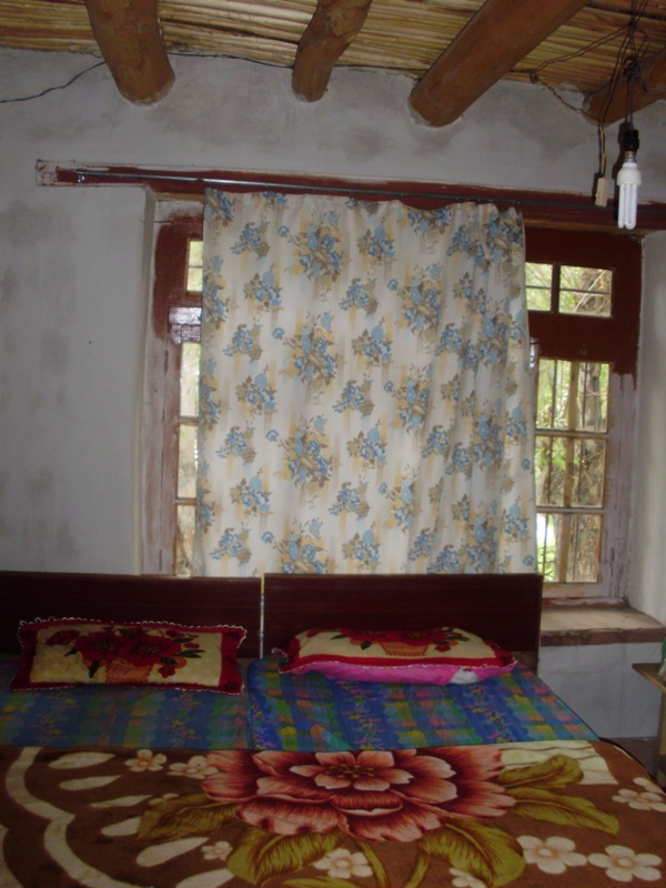 room in Hundar village