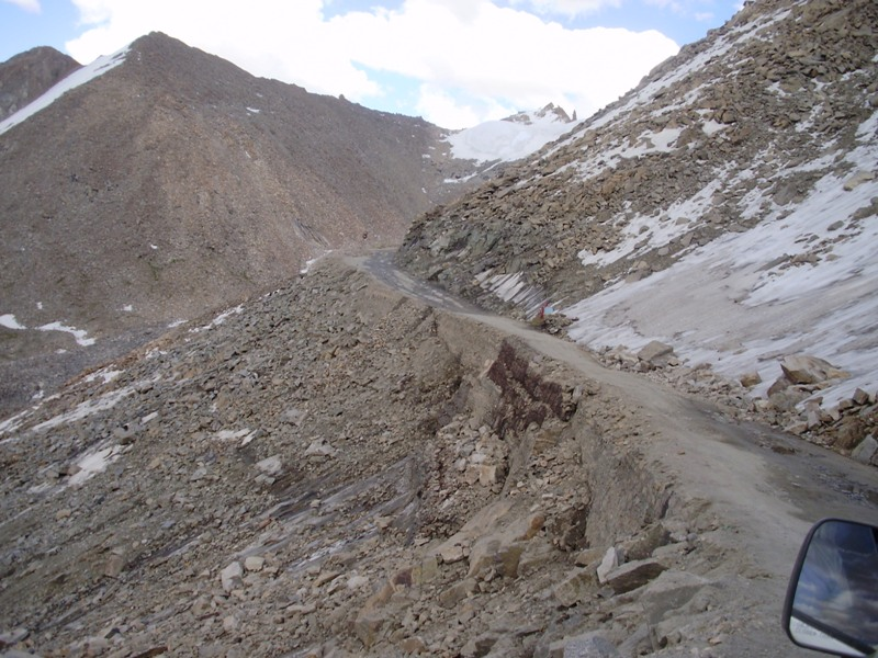 Way to Leh from Nubra Valley