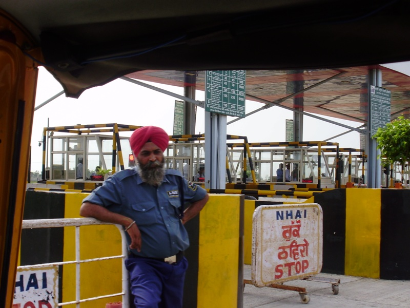 First checkpoint in India Pakistan border crossing
