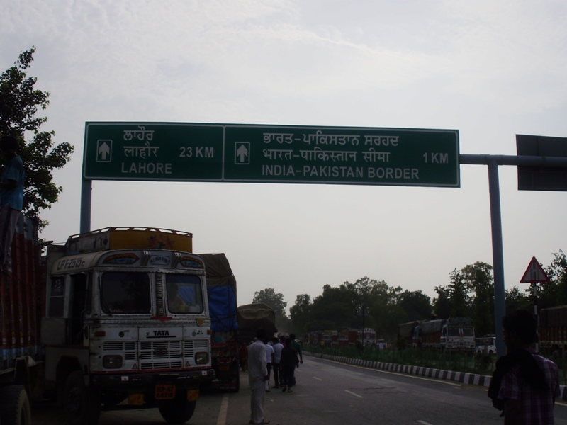 India Pakistan border crossing