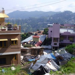 How did child from the slum help me in Almora in India?
