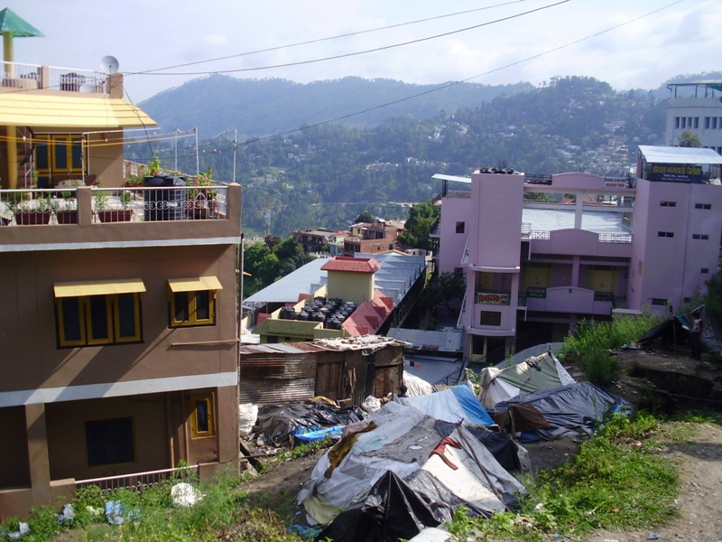 how did child from the slum help me in Almora