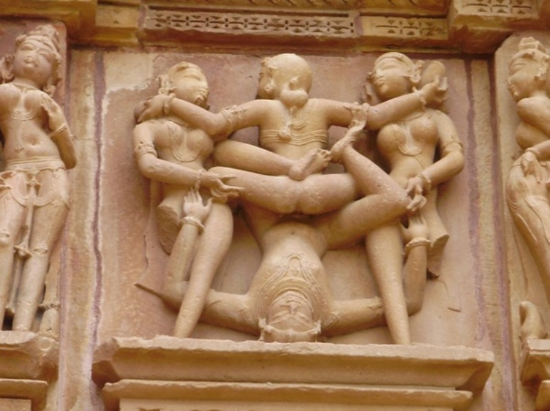 Khajuraho carving