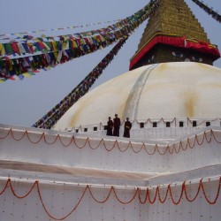 Boudhanath stupa – one of the largest stupas in Nepal