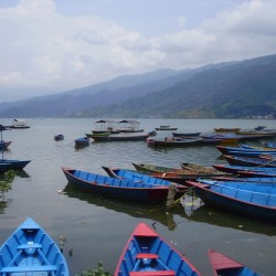 Pokhara lakeside and visiting Barahi Temple at Fewa Lake