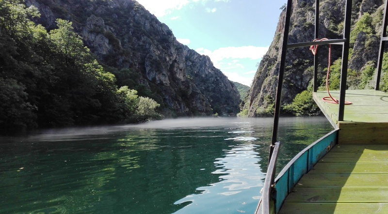 Boat trip, matka valley