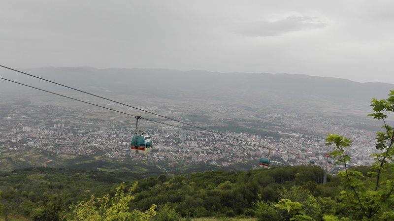 millenium cross, cable car