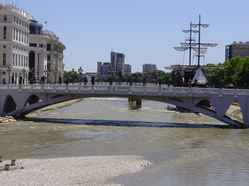 Bridges in Skopje