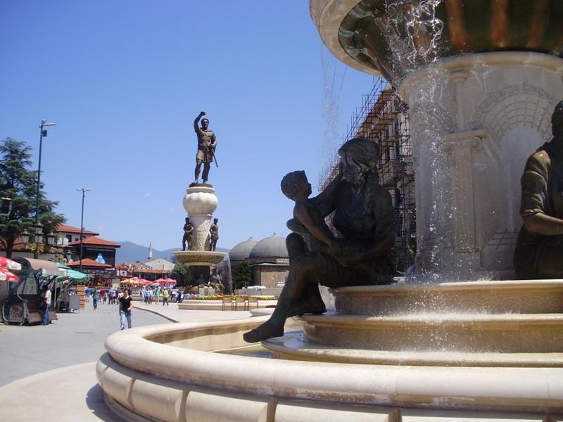 Statues in Skopje