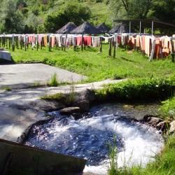 Funny day in the village Recica near Ohrid in Macedonia