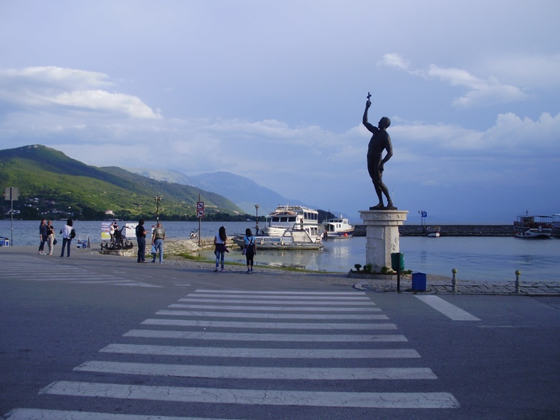 main port of Ohrid
