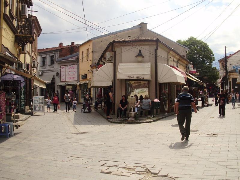 old bazaar. bitola