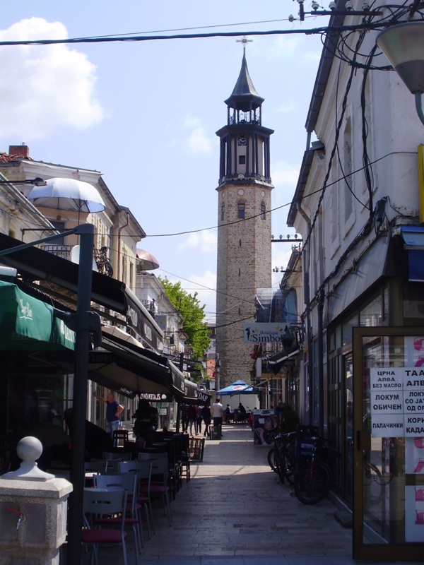 Clock tower, Prilep