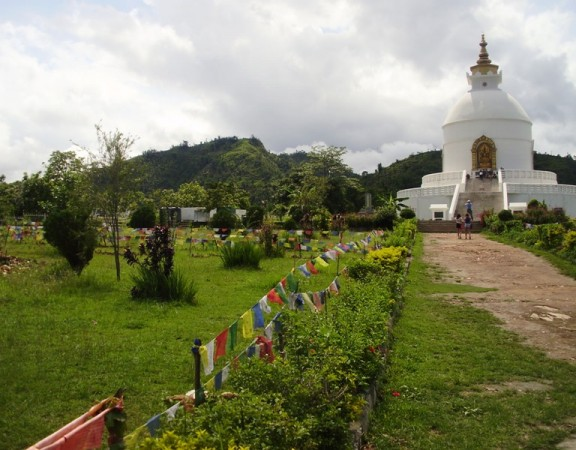 Pokhara world peace pagoda