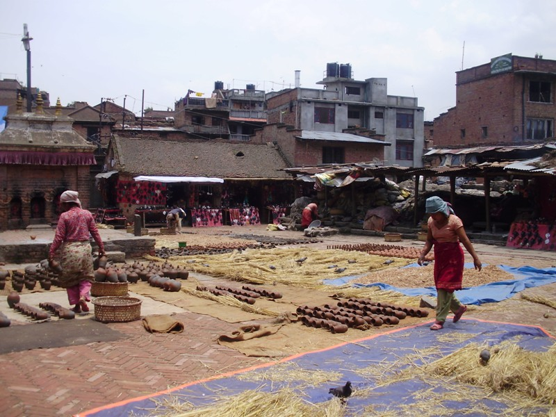 pottery square