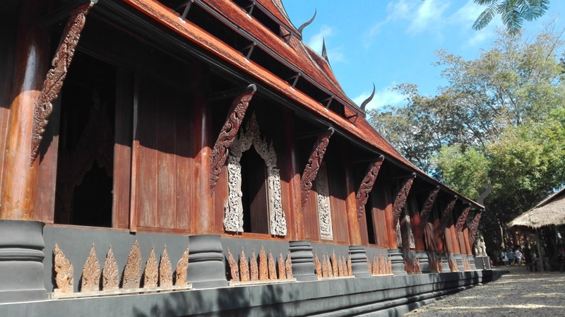 Black house Baan Dam in Chiang Rai