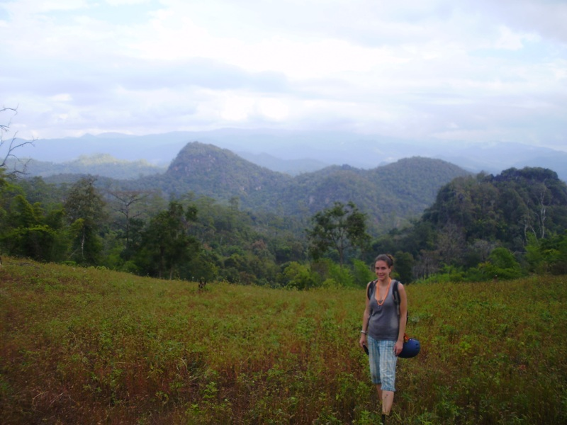 trek and caving in thailand