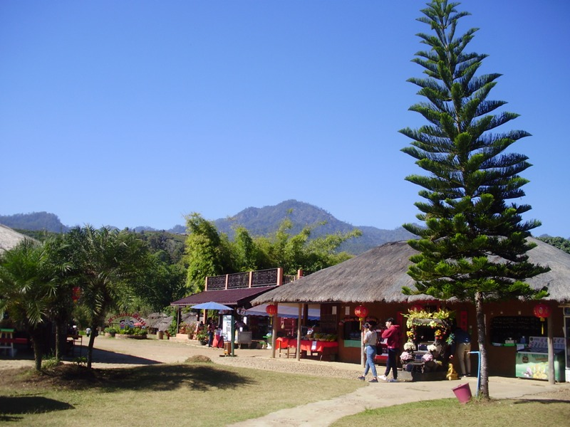 Santichon Chinese village