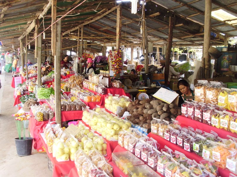 Hmong local market